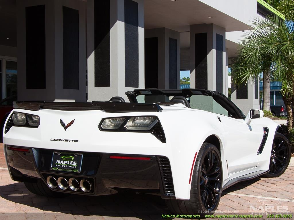 2015 Chevrolet Corvette Z06 Convertible - Photo 49 - Naples, FL 34104