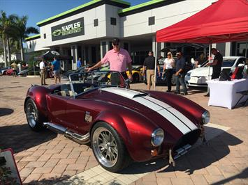 1965 Replica/Kit BackDraft Racing 427 Shelby Replica Convertible