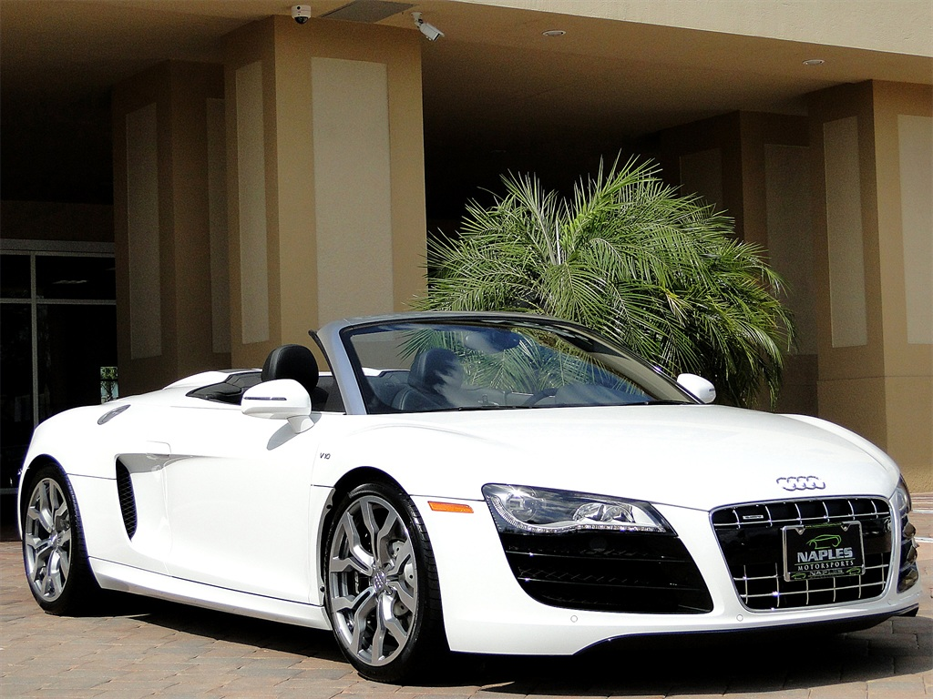 2011 Audi R8 5.2 quattro Spyder - Photo 16 - Naples, FL 34104