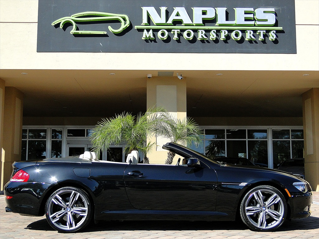 2010 BMW 650i Convertible - Photo 46 - Naples, FL 34104