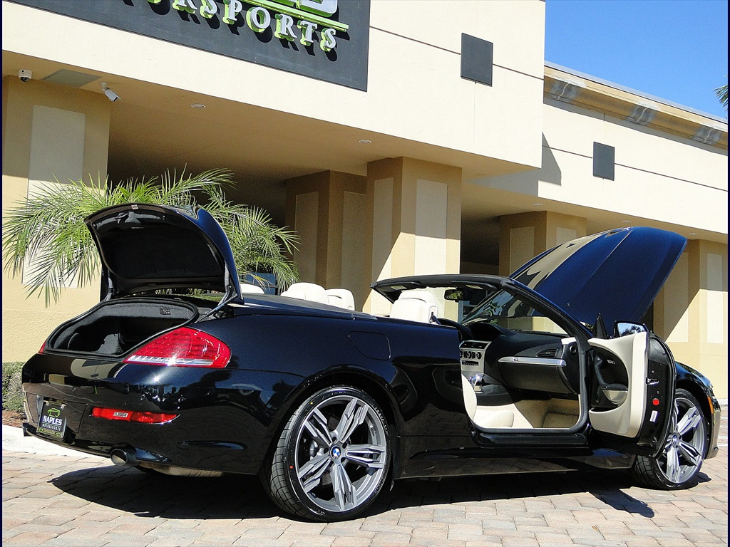 2010 BMW 650i Convertible - Photo 48 - Naples, FL 34104