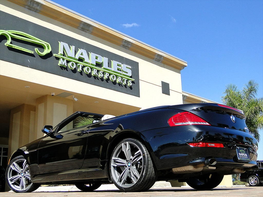 2010 BMW 650i Convertible - Photo 59 - Naples, FL 34104