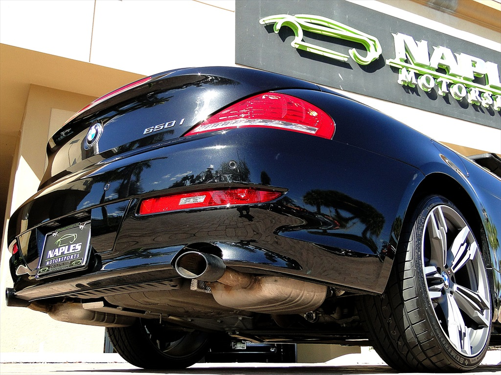 2010 BMW 650i Convertible - Photo 42 - Naples, FL 34104