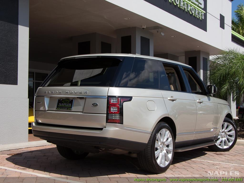 2014 Land Rover Range Rover Supercharged - Photo 50 - Naples, FL 34104