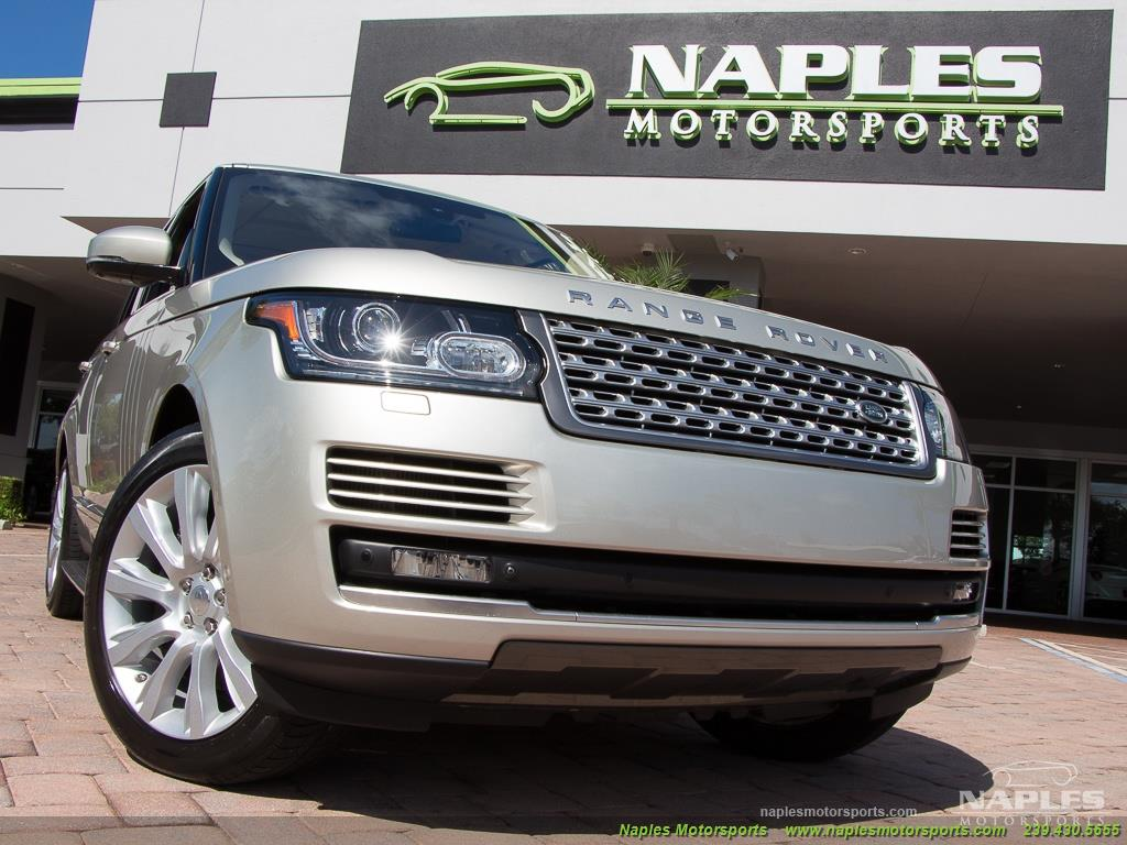 2014 Land Rover Range Rover Supercharged - Photo 53 - Naples, FL 34104