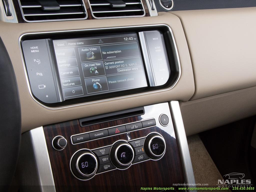 2014 Land Rover Range Rover Supercharged - Photo 31 - Naples, FL 34104