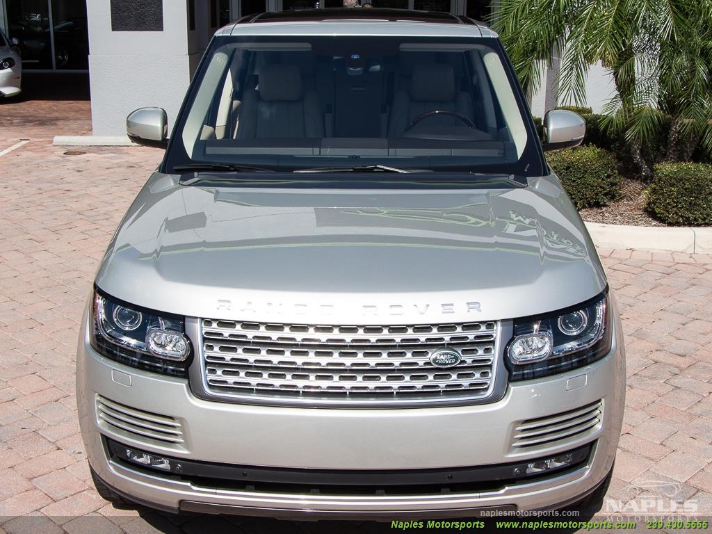 2014 Land Rover Range Rover Supercharged - Photo 40 - Naples, FL 34104