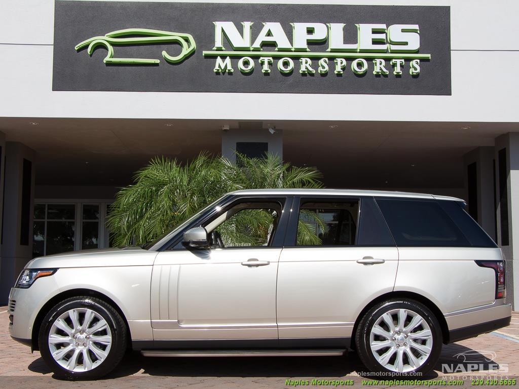 2014 Land Rover Range Rover Supercharged - Photo 9 - Naples, FL 34104