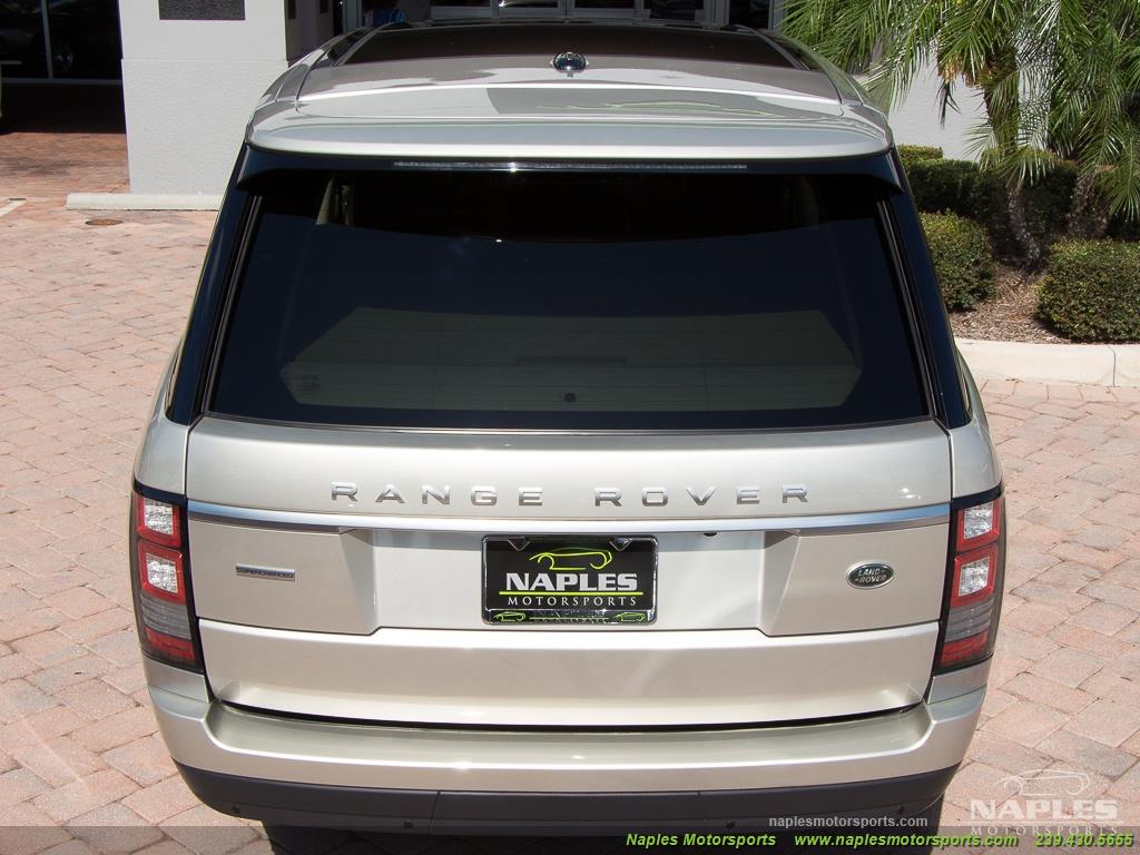 2014 Land Rover Range Rover Supercharged - Photo 43 - Naples, FL 34104