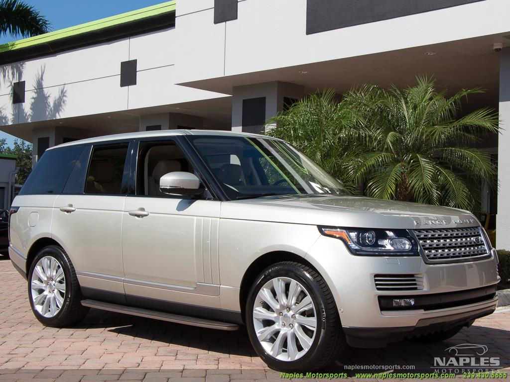 2014 Land Rover Range Rover Supercharged - Photo 25 - Naples, FL 34104