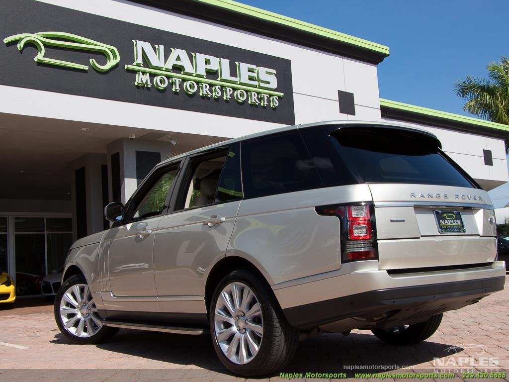 2014 Land Rover Range Rover Supercharged - Photo 45 - Naples, FL 34104