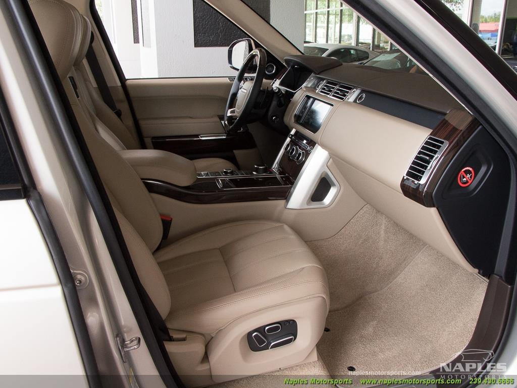 2014 Land Rover Range Rover Supercharged - Photo 16 - Naples, FL 34104