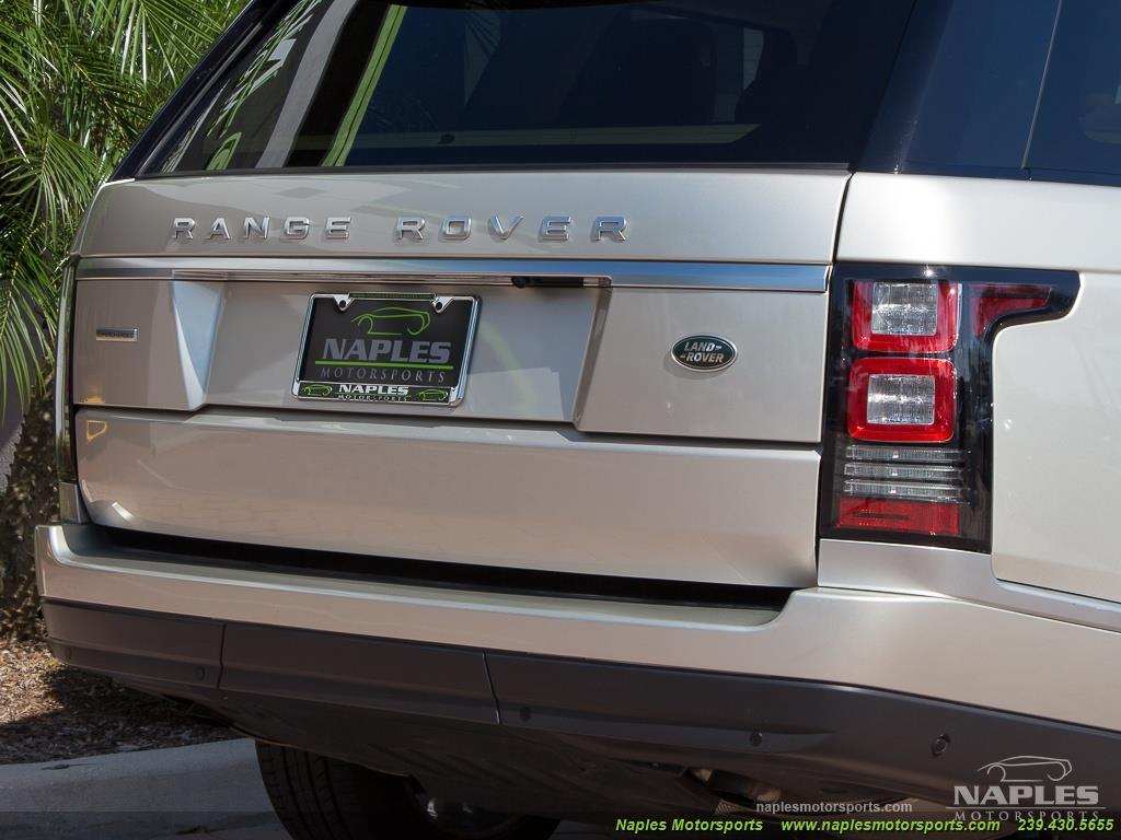 2014 Land Rover Range Rover Supercharged - Photo 35 - Naples, FL 34104