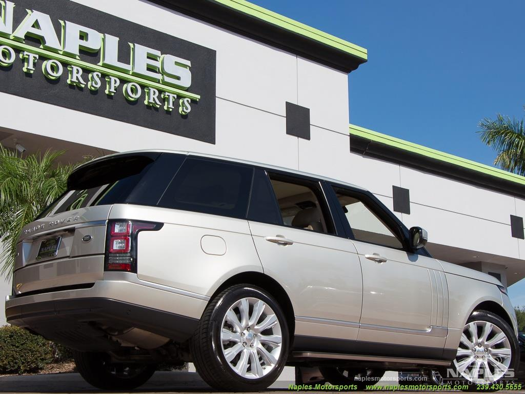 2014 Land Rover Range Rover Supercharged - Photo 30 - Naples, FL 34104