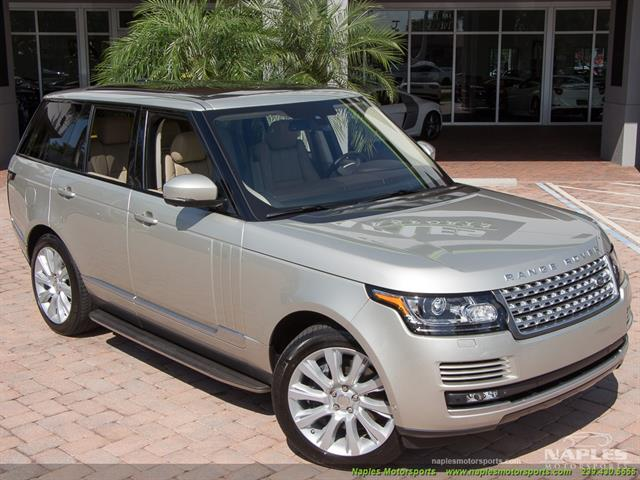 2014 Land Rover Range Rover Supercharged - Photo 3 - Naples, FL 34104