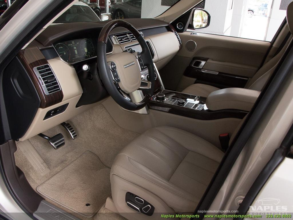 2014 Land Rover Range Rover Supercharged - Photo 6 - Naples, FL 34104
