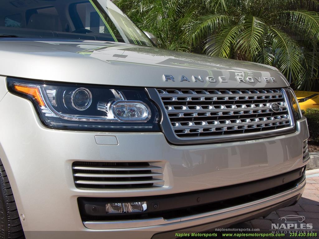 2014 Land Rover Range Rover Supercharged - Photo 28 - Naples, FL 34104