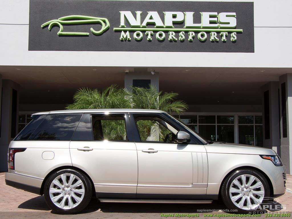 2014 Land Rover Range Rover Supercharged - Photo 36 - Naples, FL 34104