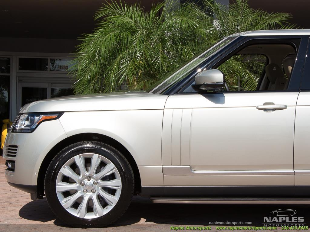 2014 Land Rover Range Rover Supercharged - Photo 18 - Naples, FL 34104