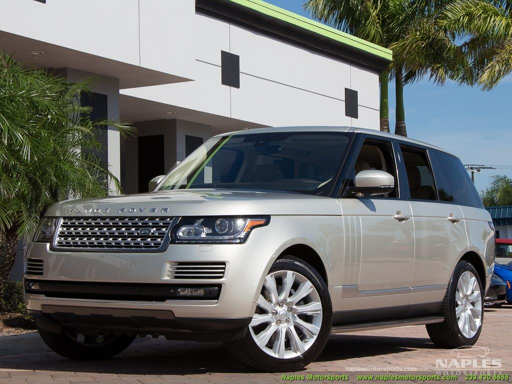 2014 Land Rover Range Rover Supercharged - Photo 17 - Naples, FL 34104