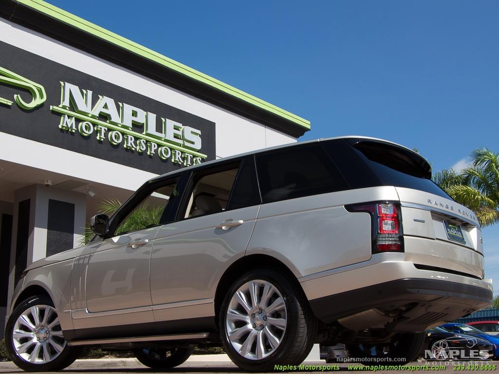 2014 Land Rover Range Rover Supercharged - Photo 5 - Naples, FL 34104