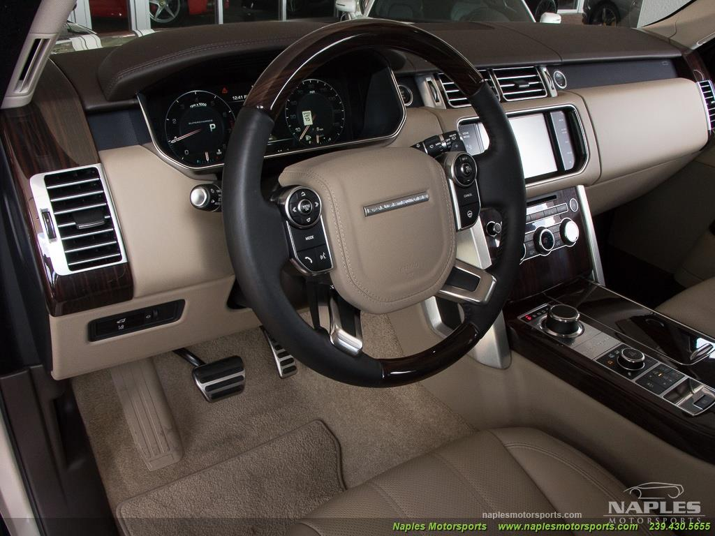 2014 Land Rover Range Rover Supercharged - Photo 14 - Naples, FL 34104