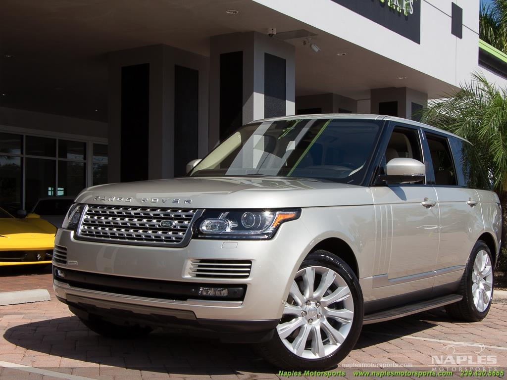 2014 Land Rover Range Rover Supercharged - Photo 48 - Naples, FL 34104