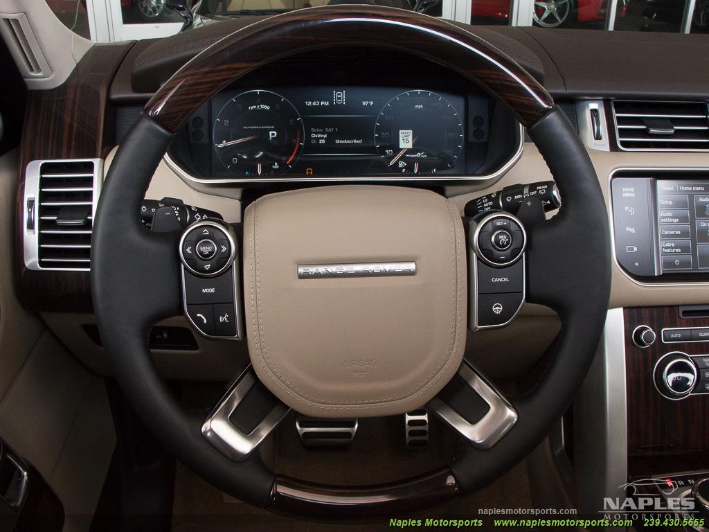 2014 Land Rover Range Rover Supercharged - Photo 29 - Naples, FL 34104