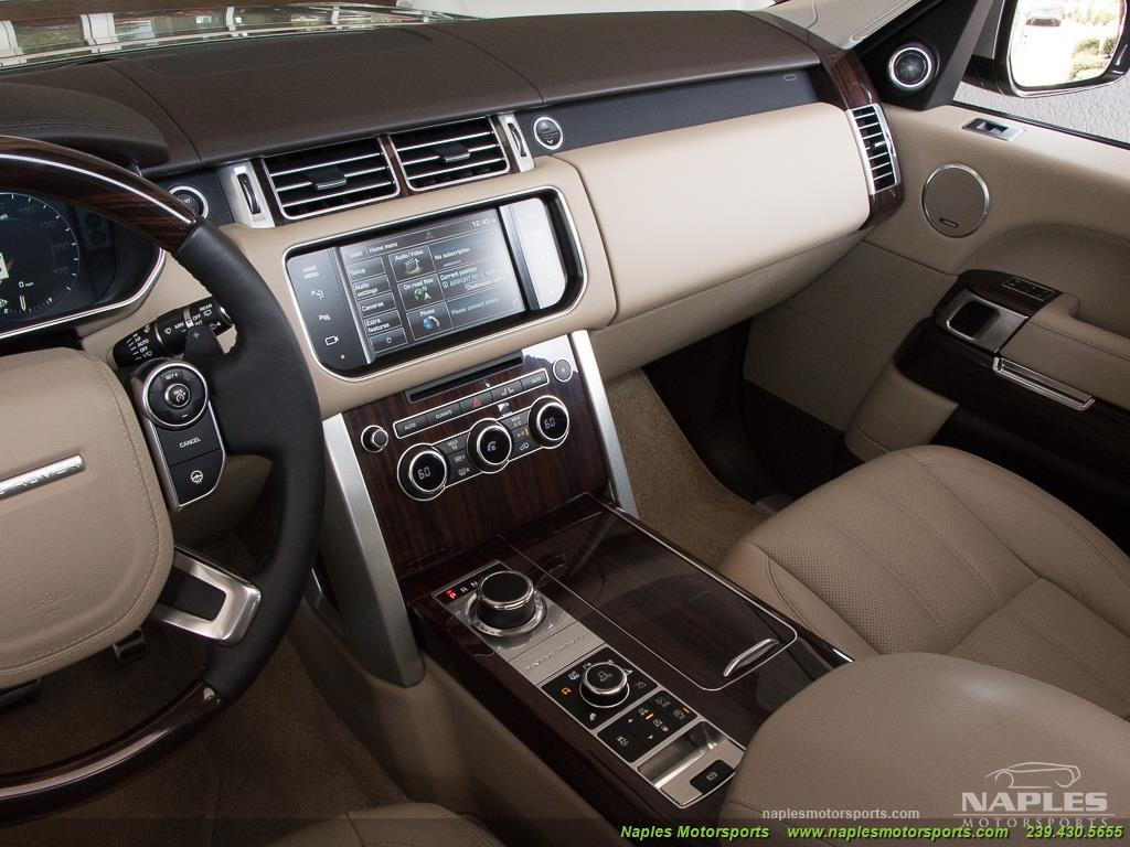 2014 Land Rover Range Rover Supercharged - Photo 27 - Naples, FL 34104
