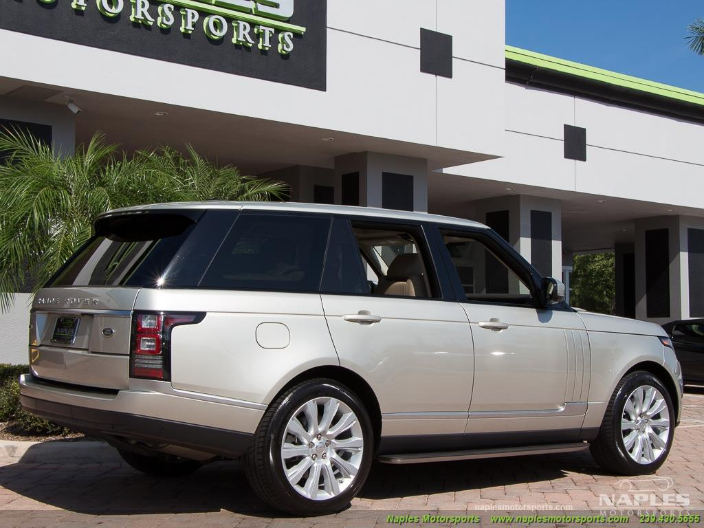 2014 Land Rover Range Rover Supercharged - Photo 21 - Naples, FL 34104