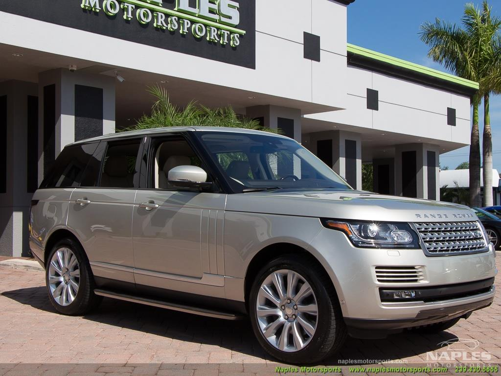 2014 Land Rover Range Rover Supercharged - Photo 41 - Naples, FL 34104