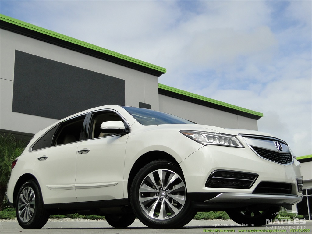 2014 Acura MDX Tech Package - Photo 12 - Naples, FL 34104