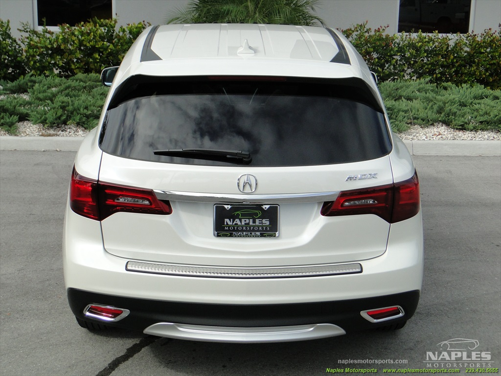 2014 Acura MDX Tech Package - Photo 26 - Naples, FL 34104