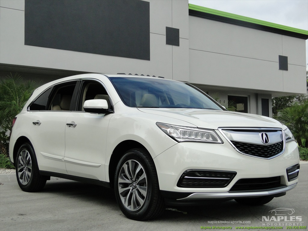 2014 Acura MDX Tech Package - Photo 29 - Naples, FL 34104