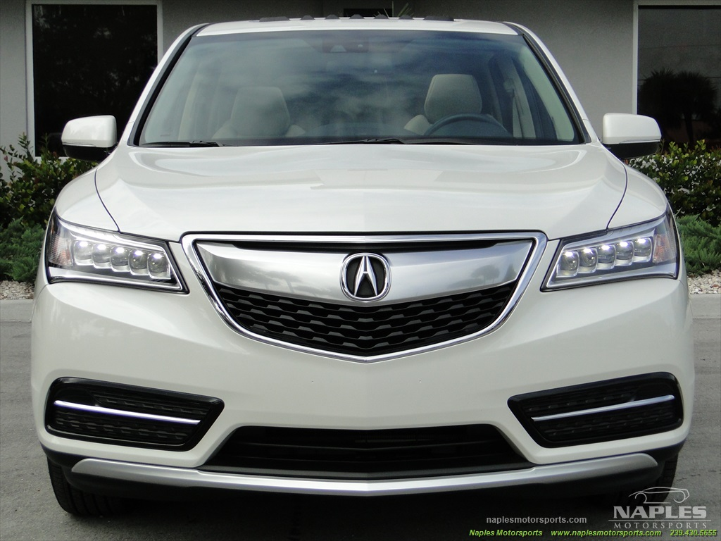 2014 Acura MDX Tech Package - Photo 28 - Naples, FL 34104