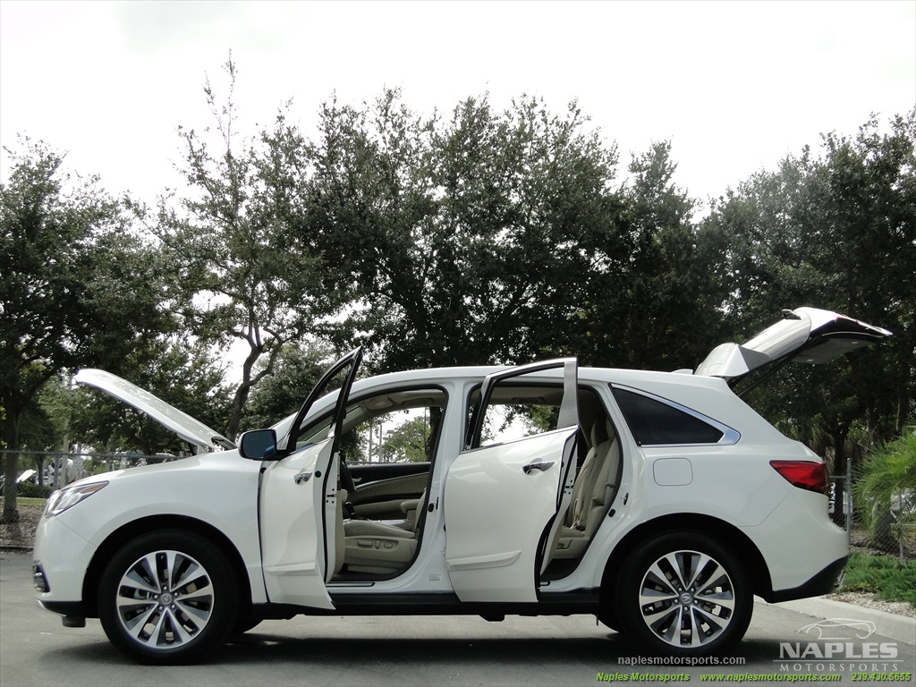 2014 Acura MDX Tech Package - Photo 32 - Naples, FL 34104