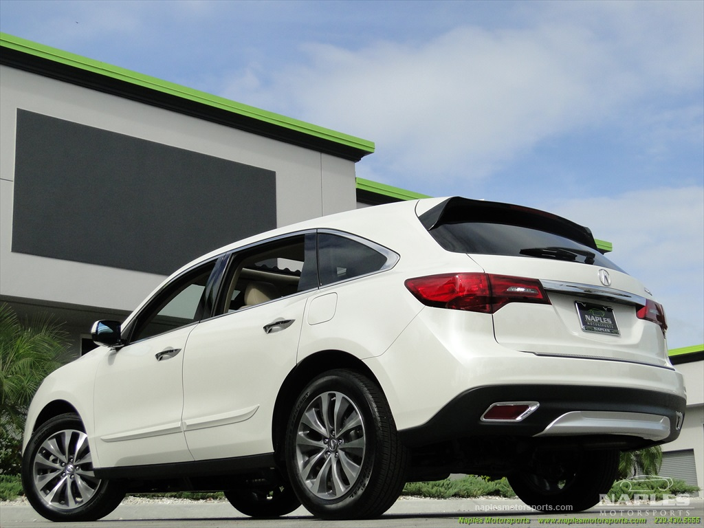 2014 Acura MDX Tech Package - Photo 36 - Naples, FL 34104