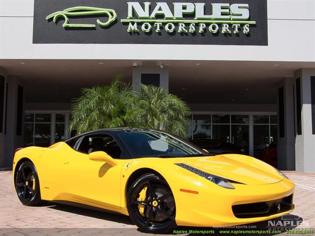2012 Ferrari 458 Italia - Photo 1 - Naples, FL 34104