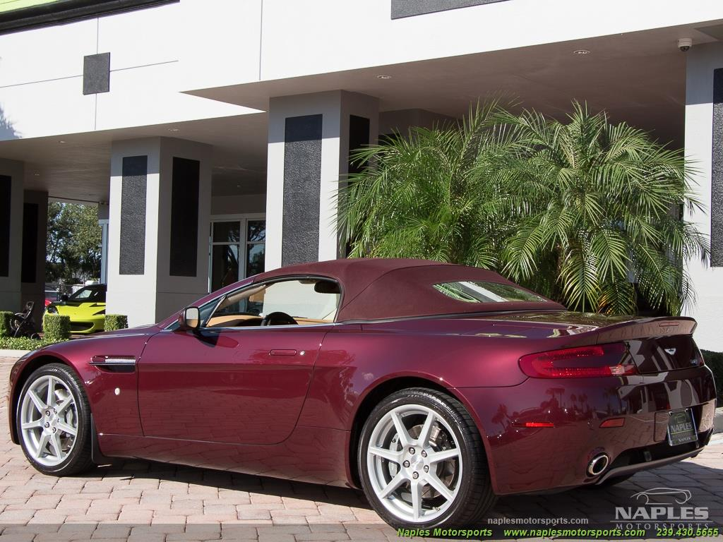 2008 Aston Martin Vantage Roadster - Photo 51 - Naples, FL 34104