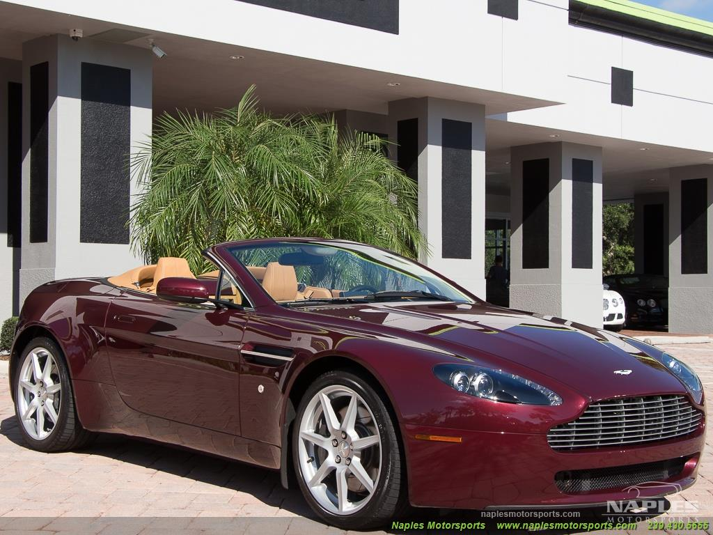 2008 Aston Martin Vantage Roadster - Photo 32 - Naples, FL 34104