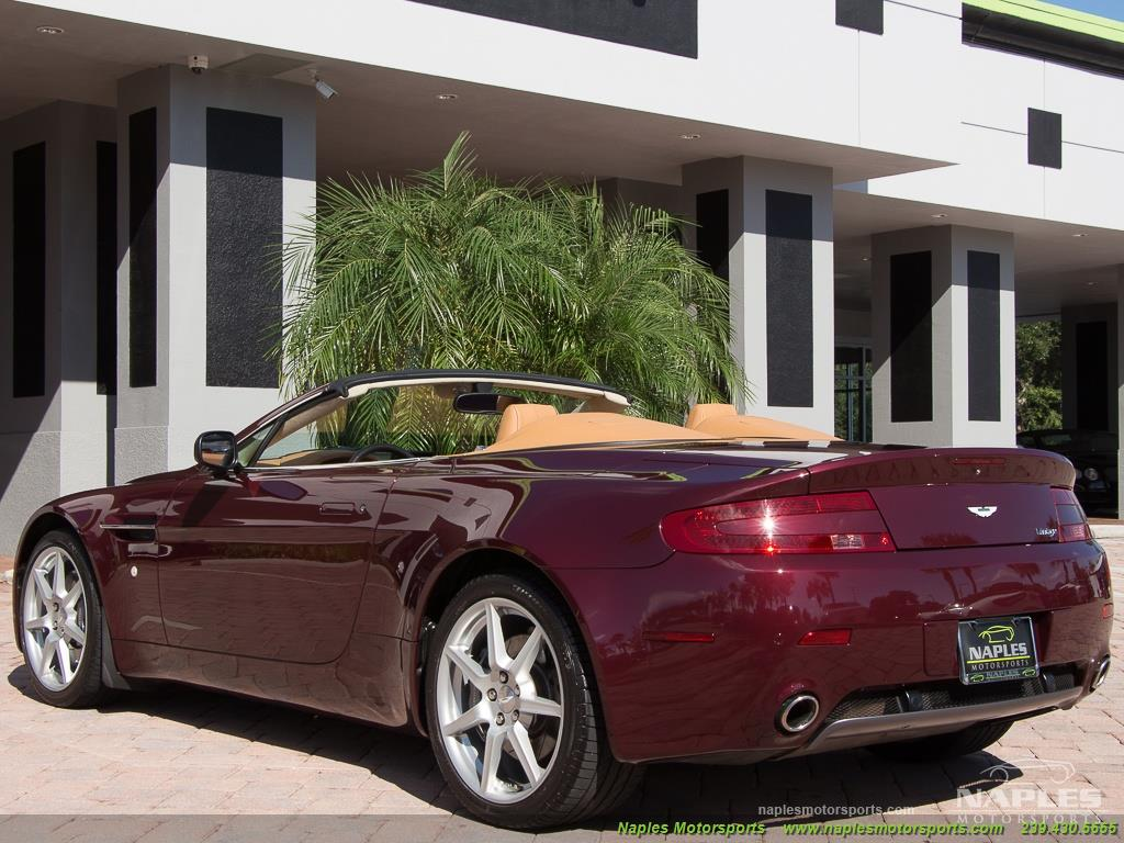 2008 Aston Martin Vantage Roadster - Photo 36 - Naples, FL 34104
