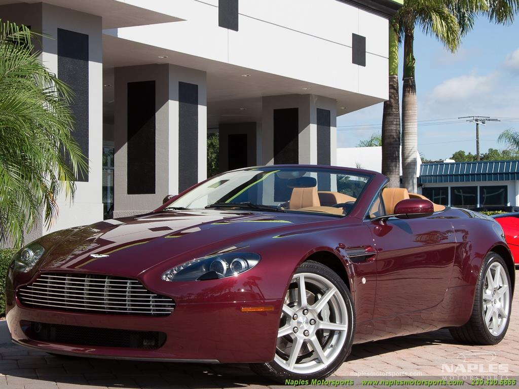 2008 Aston Martin Vantage Roadster - Photo 18 - Naples, FL 34104