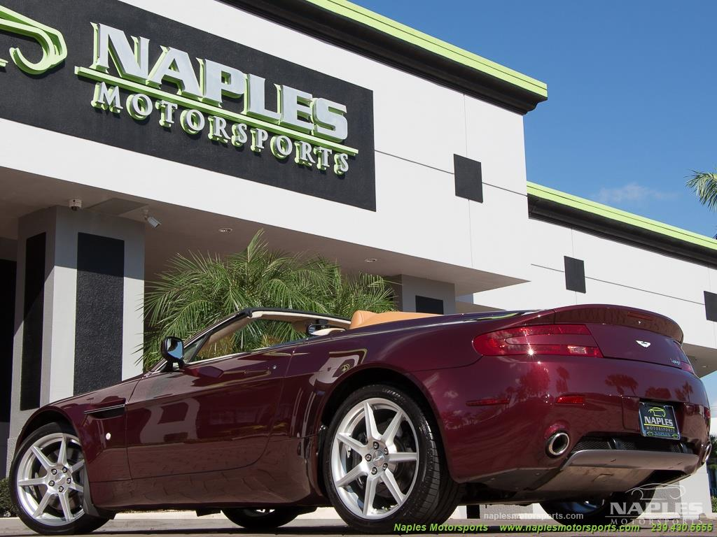 2008 Aston Martin Vantage Roadster - Photo 39 - Naples, FL 34104