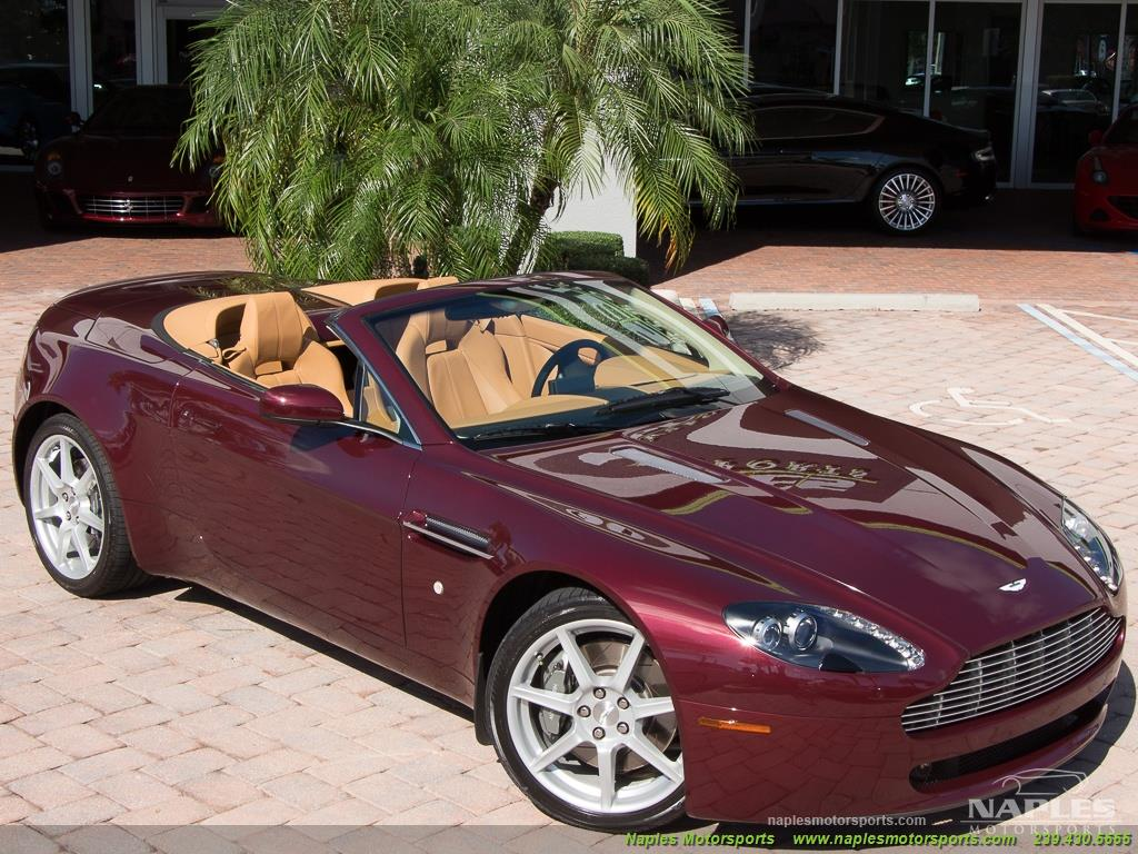 2008 Aston Martin Vantage Roadster - Photo 52 - Naples, FL 34104