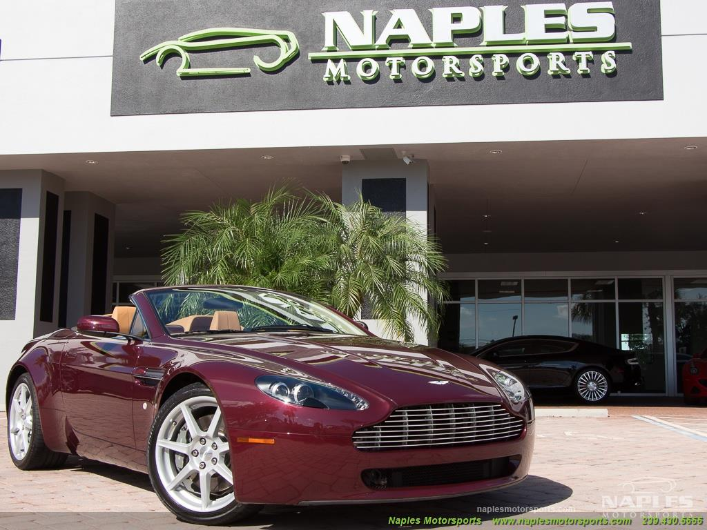 2008 Aston Martin Vantage Roadster - Photo 55 - Naples, FL 34104