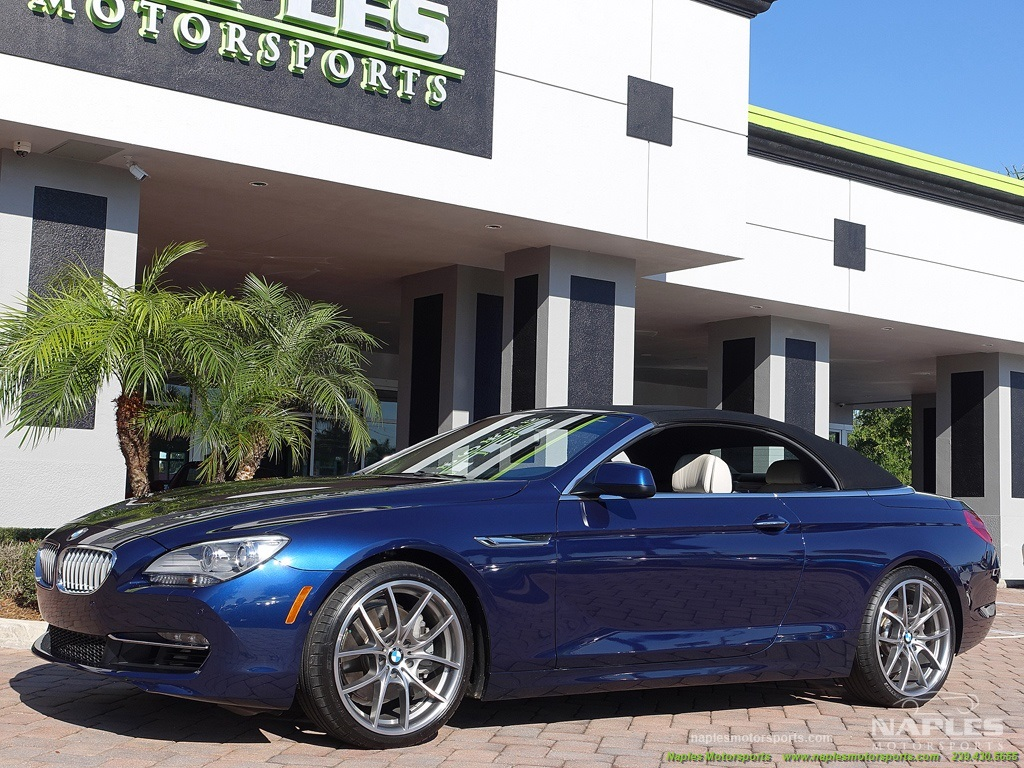 2012 BMW 650i Convertible - Photo 5 - Naples, FL 34104