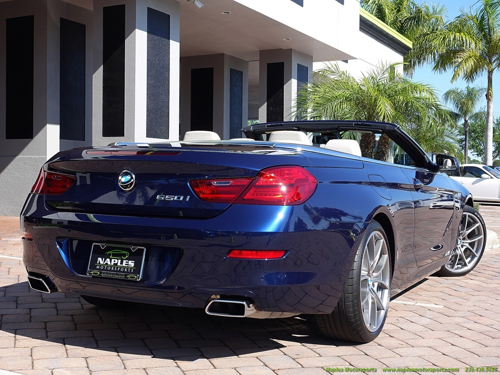 2012 BMW 650i Convertible - Photo 51 - Naples, FL 34104