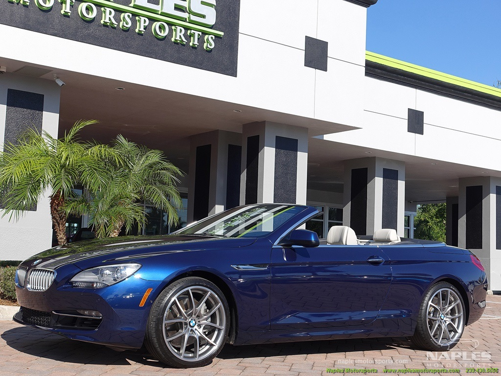 2012 BMW 650i Convertible - Photo 11 - Naples, FL 34104