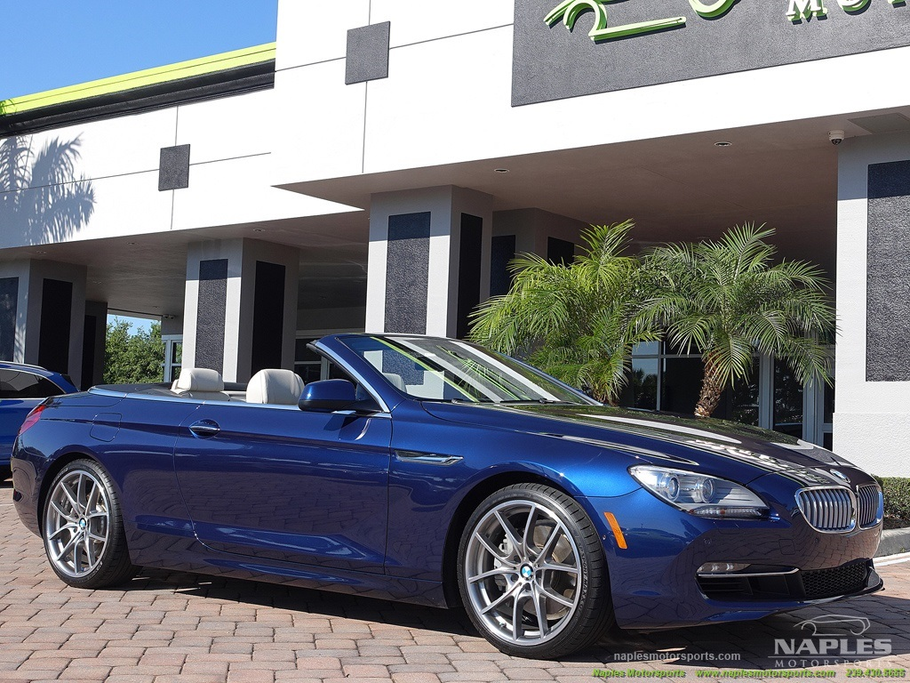 2012 BMW 650i Convertible - Photo 31 - Naples, FL 34104