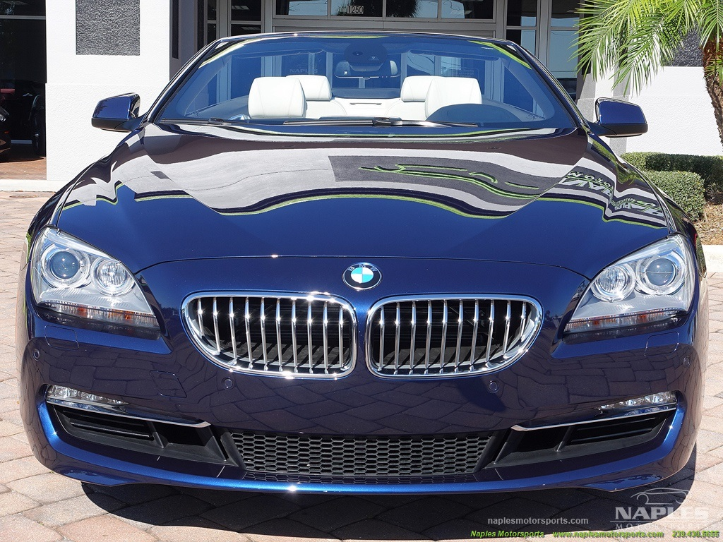 2012 BMW 650i Convertible - Photo 10 - Naples, FL 34104